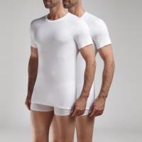 DIM T-shirt Col Rond Ecodim x2 Blanc - Taille L