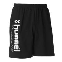 HUMMEL Short de Handball UH - Homme - Noir et Gris Argenté - Taille S
