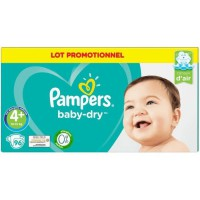 PAMPERS Couche bébé harmonie taille 4x117