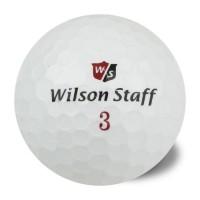 WILSON Lot de 50 balles Wilson Staff prenim - Reconditionnées - Blanc