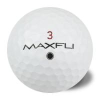 MAXFLI Lot de 50 Balles de Golf Max Fli Reconditionnées