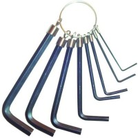TEC HIT Jeu 8 clés mâles de 1,5 a 6mm