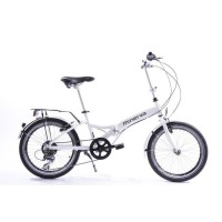 EVOBIKE Vélo pliable aluminium7 speed blanc