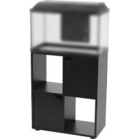 ZOLUX Meuble pour aquarium ISEO - L 60 x p 30 x h 72 cm - Noir