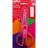 APPLI Ciseaux créatifs - Dents - 13 cm