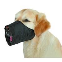 TRIXIE Museliere polyester M noir pour chien