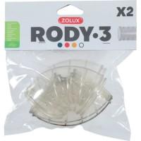 ZOLUX Tube coudé pour cage rongeur Rody3 - Roylounge - 2 pieces