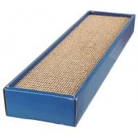 TRIXIE Plaque griffoir Scratchy - Bleu - Pour chat