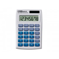 Calculatrice double alimentation