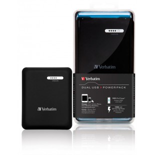 Double chargeur USB 12,000mAh