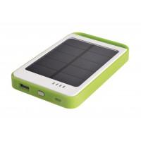Bloc d'alimentation solaire compact USB, 6000mAh