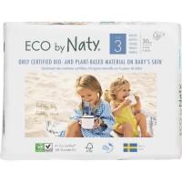 NATY Couches écologiques T3 Midi x 30 - Blanc