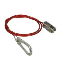 CARPOINT Câble de frein de sécurité pour remorque 0438116 - 100 cm - 1500n/150 kg