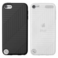 Pack de 2 Housses en silicone pour iPod Touch 5e génération noir/blanche