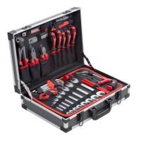 MEISTER Coffret a outils de 121 pieces - Aluminium