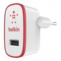 Chargeur secteur USB 2.1 ampoule rouge