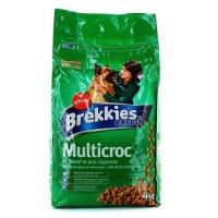 BREKKIESCroquettes boeuf et légumes Multicroc - Chien - 4 Kg