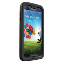 Coque noire NUUD pour Samsung Galaxy S4 (acces direct á l'ecran)