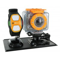 Caméra sport WiFi full HD avec caisson étanche jusqu'à 60m