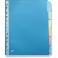 ELBA Intercalaires Color Life - 6 positions - A4+