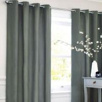 Rideau coton LOOK - Gris carbone - 140x250 cm