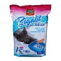 RIGA Litiere silica doypack - Pour chat - 2,2kg