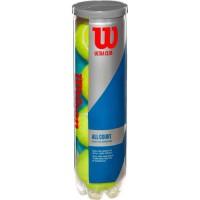 WILSON Balles de Tennis Ultra Club All Court - Noir