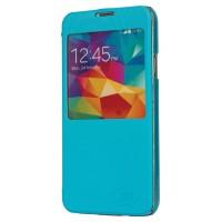 Etui pour Smartphone PU en Cuir pour Galaxy S5 blue