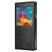 Smartphone Etui PU Cuir pour Galaxy S5 noir