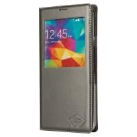 Smartphone Etui PU Cuir pour Galaxy S5 dark greySmartphone Etui PU Cuir pour Galaxy S5 gris foncé