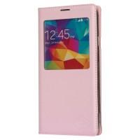 Etui PU Cuir pour Smartphone Galaxy S5 rose