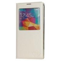 Smartphone Etui PU Cuir pour Galaxy S5 blanc