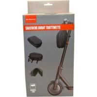 E-ROAD BR6029 Sacoche avant semi rigide noir pour trottinette électrique