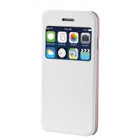 Etui PAPILLON iPhone 6 Blanc