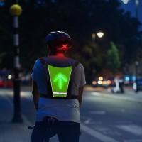 E-ROAD BR6027 Dossard - sac a dos avec signalitique par LED activable par télécommande