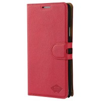 Etui rouge chromatique pour Galaxy Note 4