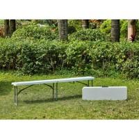 Banc pliable pour table de réception 180 cm