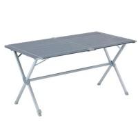 TRIGANO Table de camping en aluminium - 140 cm