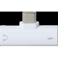Dédoubleur USB-C vers Jack 3.5 mm USB-C