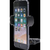 Support voiture pour smartphones avec fixation sur grille d`aération