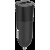 Base USB de chargeur allume-cigare de 2.4A