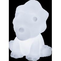 Enceinte sans fil lumineuse blanche dinosaure Lumin`us Bigben