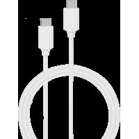 Câble USB-C/USB-C Power Delivery 2m blanc Bigben