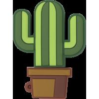 Dédoubleur Jack 3.5mm cactus