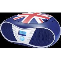 Lecteur CD/radio FM et MP3 CD58 Bigben drapeau anglais