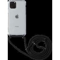 Coque rigide transparente à bandoulière amovible pour iPhone 11 pro