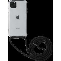 Coque rigide transparente à bandoulière amovible pour iPhone 11 Pro Max