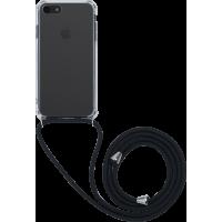 Coque rigide transparente à bandoulière amovible pour iPhone SE (2020)/8/7/6S/6