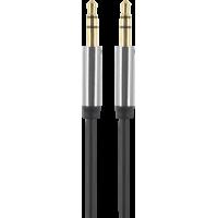 Câble audio Jack 3.5/Jack 3.5 noir