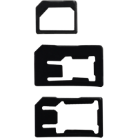 3 adaptateurs pour micro et nano SIM